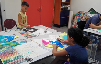 Retour en images sur les activités d'août au Secteur Famille