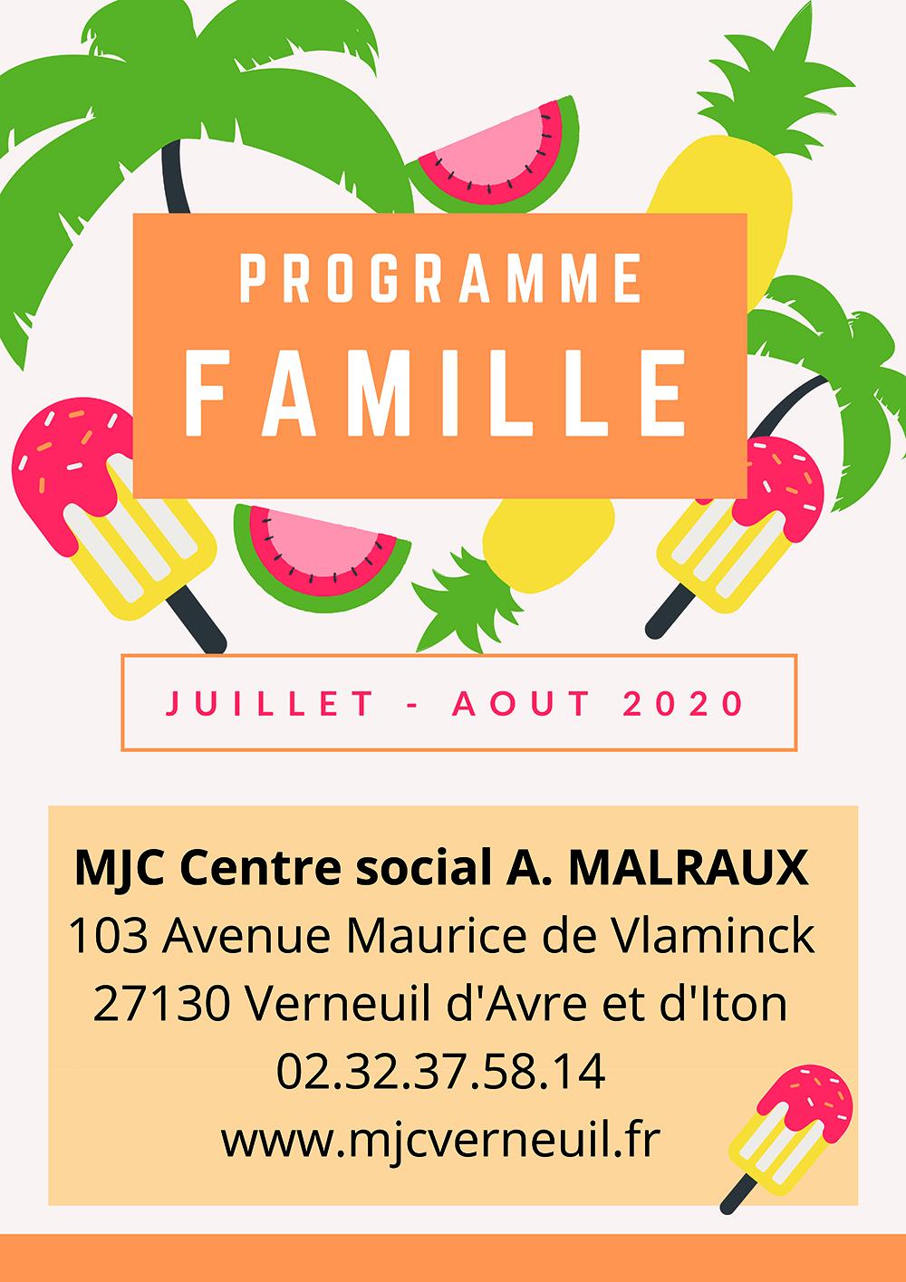Programme Famille p1