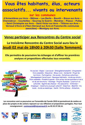 Renouvellement du projet social 2020 à 2023
