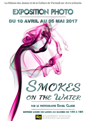 "Photographie : l'exposition ""Smokes on the water"" par Daniel Claisse au Silo du 10 avr"