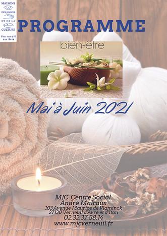 Programme bien-être du 31 mai au 21 juin