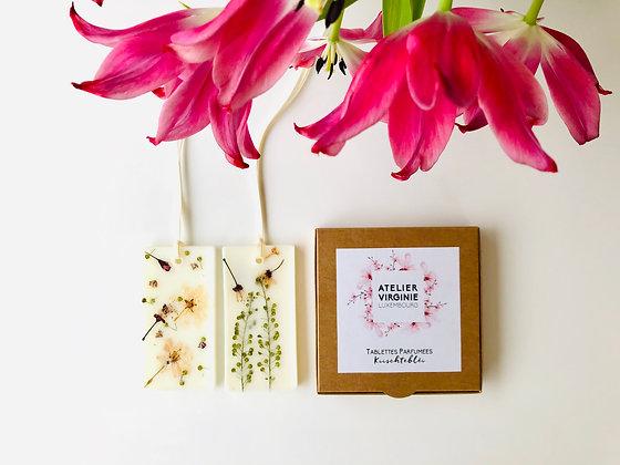 Tablettes parfumées fleurs