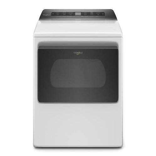 Whirlpool Top Load Electric Dryer with Intuitive Controls
