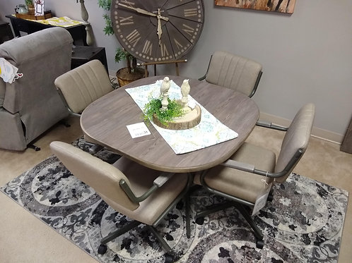 Chromecraft Dining Table and Chairs
