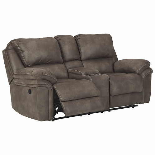 TREMENTON DOUBLE RECLINING LOVESEAT WITH CONSOLE