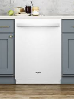 Dishwasher with Fan Dry in white