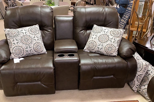 Brinley Rocking & Reclining Loveseat with Console