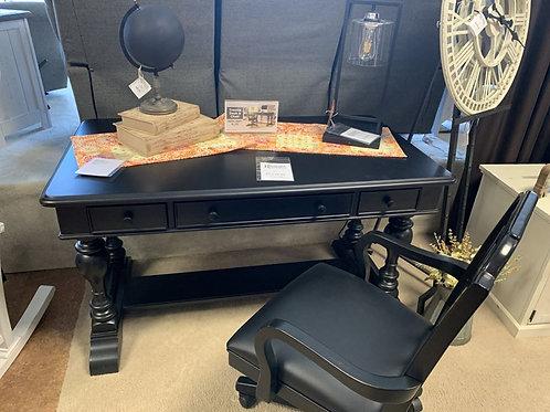 Trestle Writing Desk & Chair