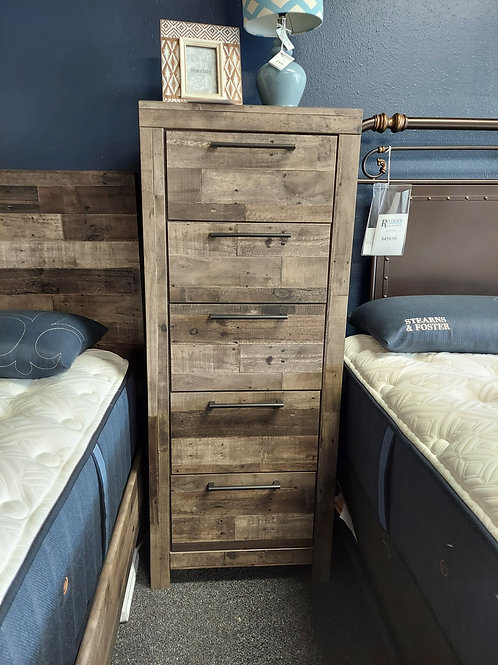 Derekson 5 Drawer Narrow Chest