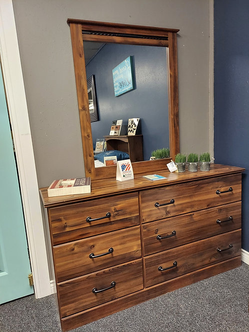 Willow Collection Dresser & Mirror