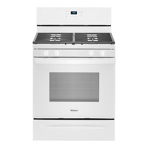 5.0 cu. ft. Whirlpool® gas range with SpeedHeat™ burner