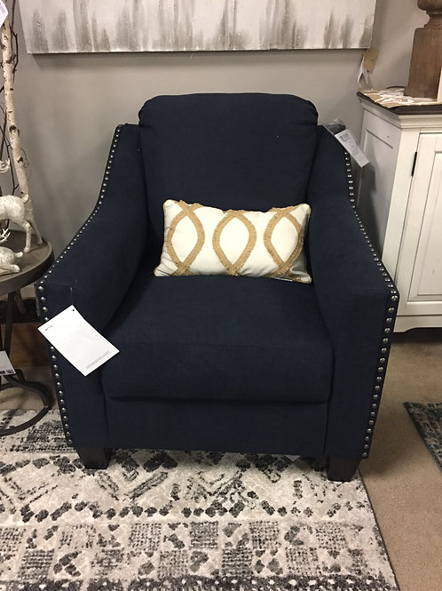 Creel Height Ink Accent Chair