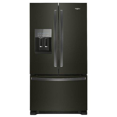 36-inch French Door Refrigerator in Fingerprint-Resistant Black Stainless Steel