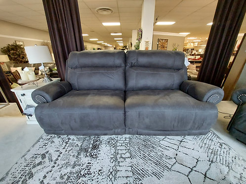 Austere Reclining Power Sofa