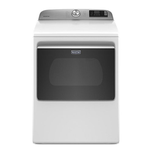 7.4 cu. ft. Smart Dryer with Extra Power Button- 5 YEAR PARTS AND LABOR WARRANTY