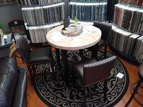 Monarch Marble Top Dining Table