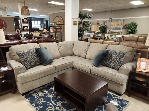Bovarian Sectional in Stone