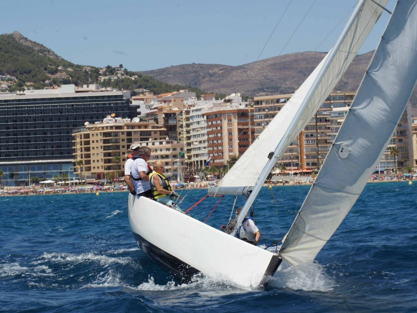 A TOM28 from the costa blanca sailing association in Calpe
