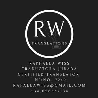 Raphaela Wiss Translations