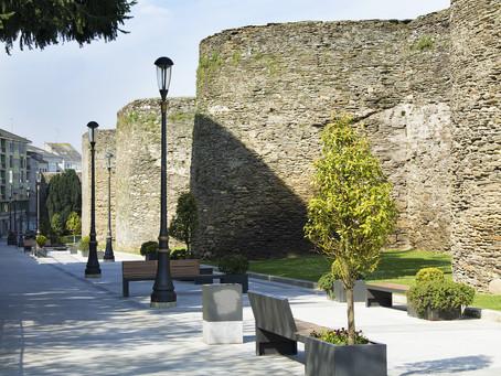 The Roman City of Lugo - Lisa Rose Wright