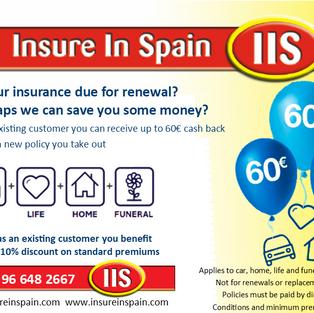 Insure in Spain