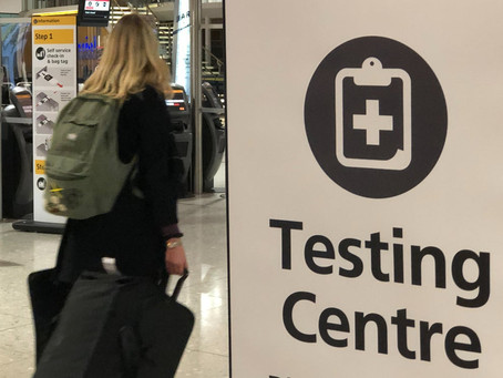 GOVERNMENT FINALLY INTRODUCES MANDATORY COVID TESTS FOR UK-BOUND TRAVELLERS