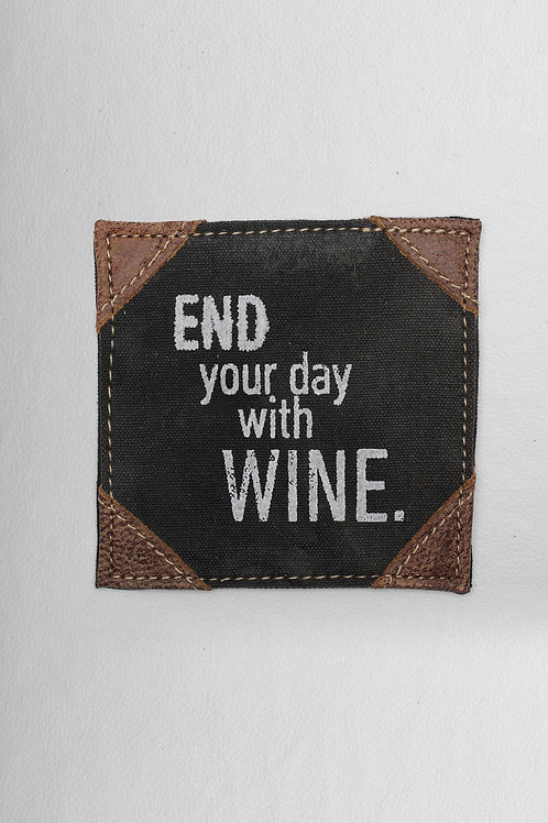 END YOUR DAY COASTER SET OF 4