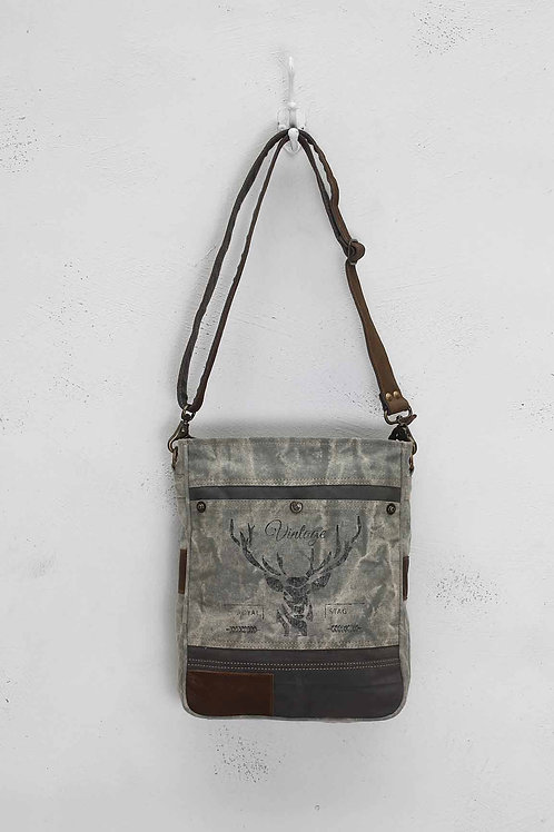 MYRA STAG VINTAGE SHOULDER BAG