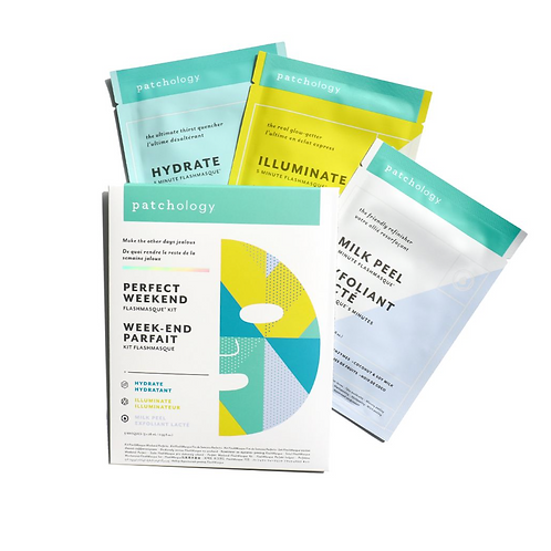 FlashMasque® 5 Minute Sheet Masks: Perfect Weekend Trio