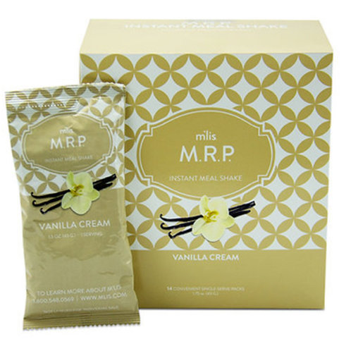 M.R.P Instant Meal Packets - Vanilla Cream