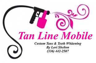 Tan Line Mobile Teeth Whitening