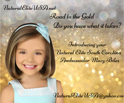 Natural Elite USA is proud to introduce your Natural Elite South Carolina Ambassador Macy Biles! Do