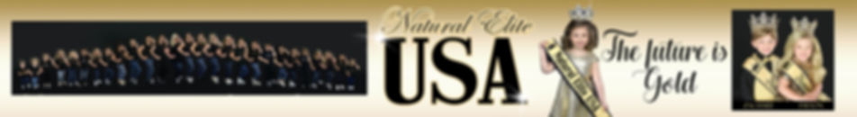 Stunning Natural Elite USA Natioals State Delegate Title Court