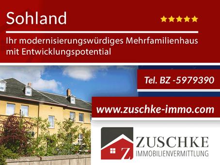 Sohland - Ihr modernisierungswürdiges Mehrfamilienhaus mit Entwicklungspotential