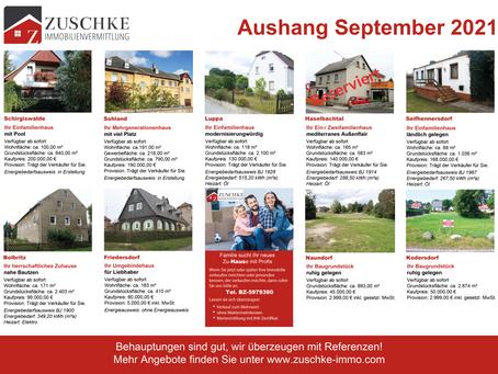 Unsere Angebote für Sie im September...🏡