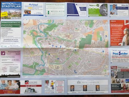 Stadtplan! Wir sind dabei