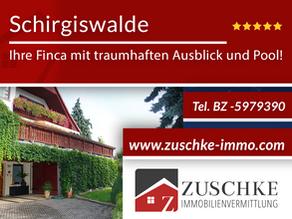 Schirgiswalde - Ihre Finca mit traumhaften Ausblick und Pool!