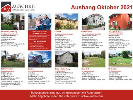Unsere Angebote für Sie im Oktober...🏡
