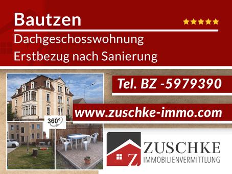 Bautzen -  2-Raum-Dachgeschosswohnung