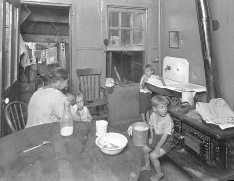 Southern-Poverty-Depression-Era-Kitchen-