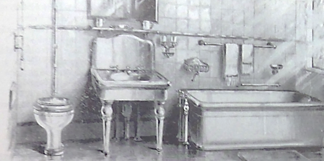Typical Middle Class Bathroom 1900