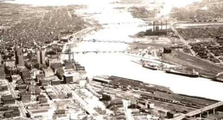 Toledo Aerial Image 1949