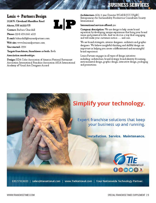Simplify your technology with Tie National's franchise solutions