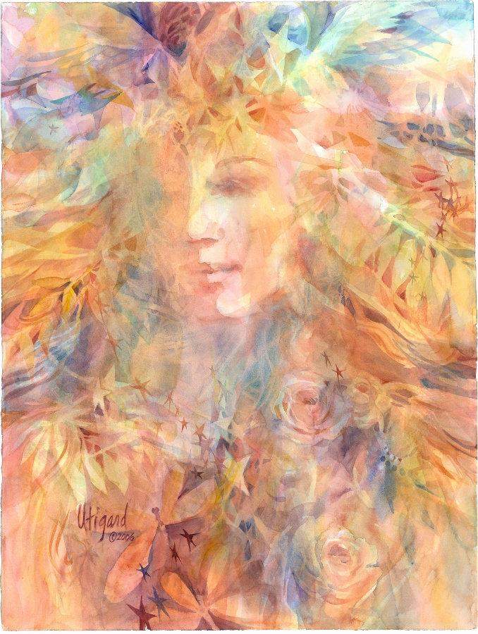 Celestial Music by Carolyn Utigard Thomas
