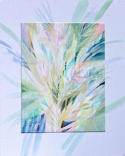 Leafy Flora Carolyn Utigard Thomas