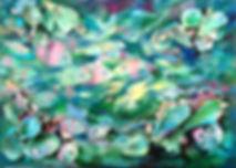 A shell original artwork by Carolyn Utigard Thomas