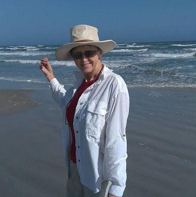 Carolyn at the Beach