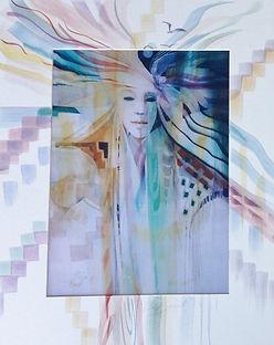 Wind Spirit by Carolyn Utigard Thomas
