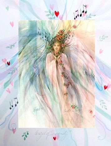 Angel of Serenity by Carolyn Utigard Thomas