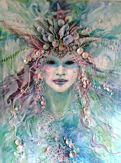 Sea Goddess by Carolyn Utigard Thomas
